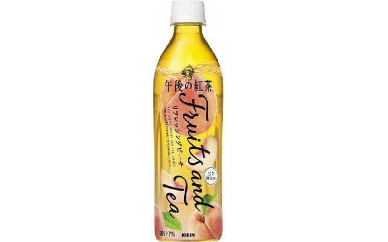 キリン 午後の紅茶 Fruits and Teaリフレッシングピーチ