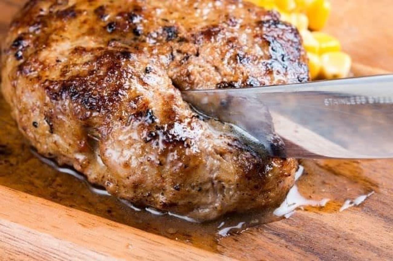 ニックストック「熟成牛ハンバーグ」