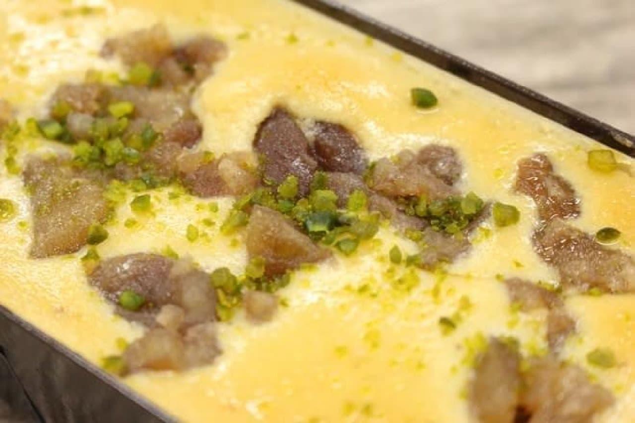 成城石井「マロンといちじくのプレミアムチーズケーキ」