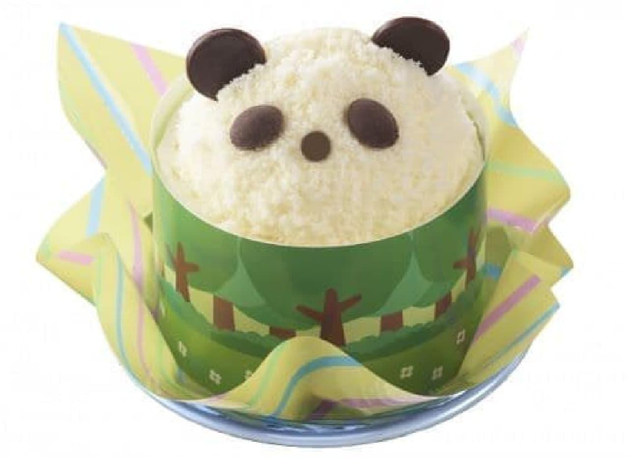 銀座コージーコーナーの上野公園ルエノ店「コージーパンダさんのケーキ」