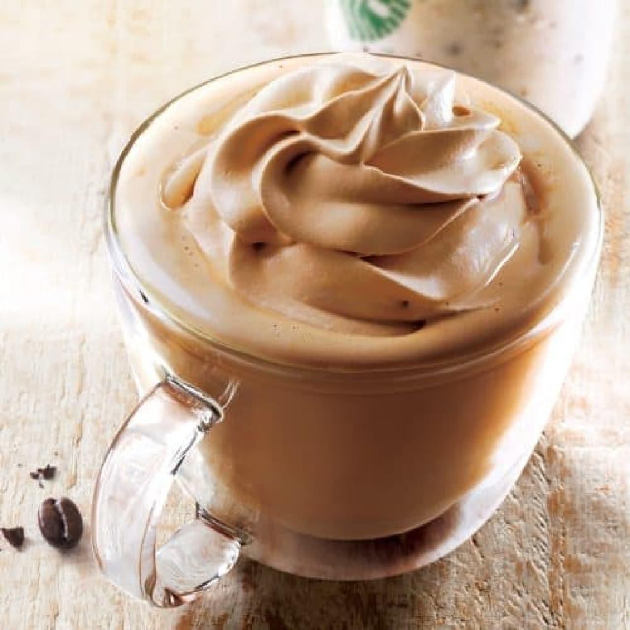 スターバックス「コーヒー&クリーム ラテ」