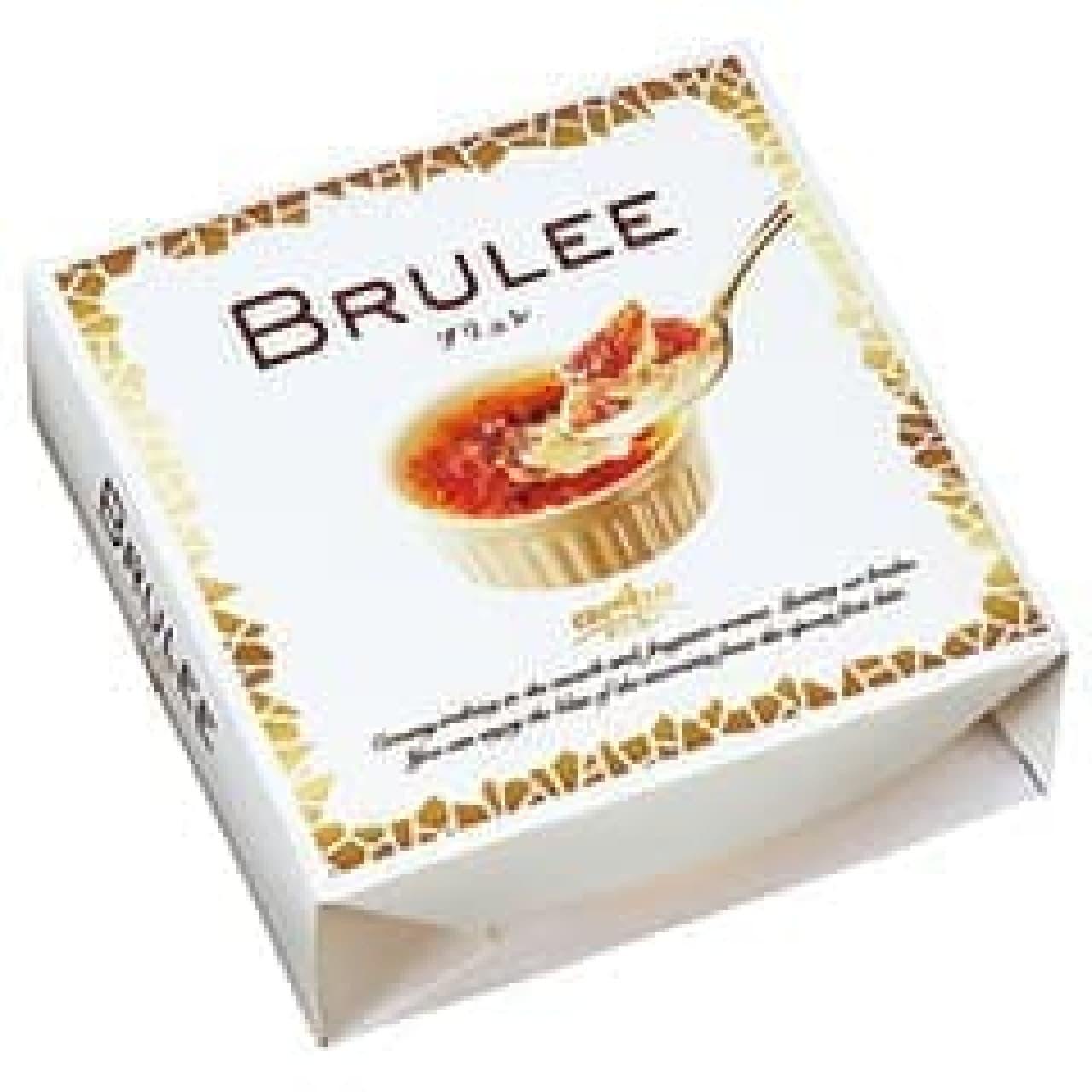 クレームブリュレみたいなアイス「BRULEE(ブリュレ)」