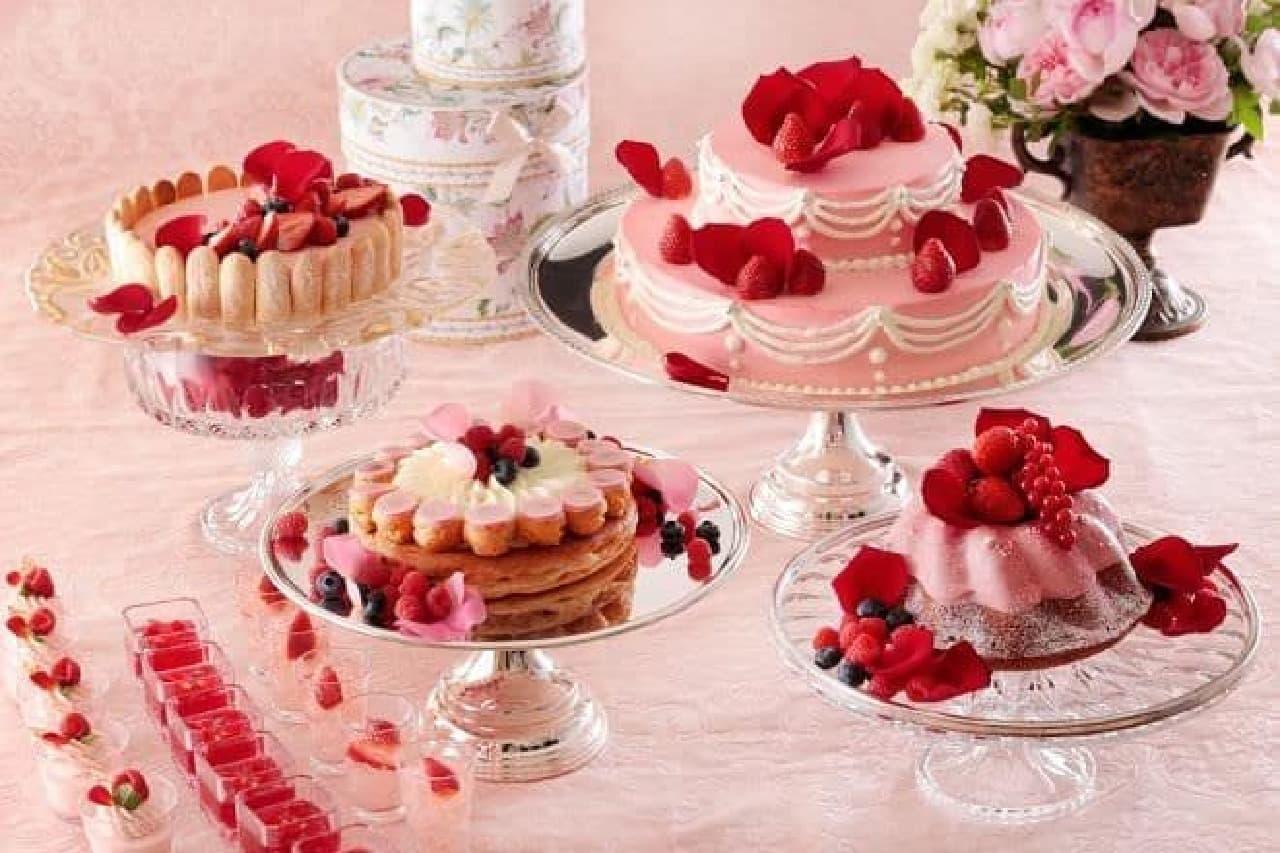 横浜ベイシェラトン ホテル&タワーズ「Sweets Parade ~マリーアントワネット~」