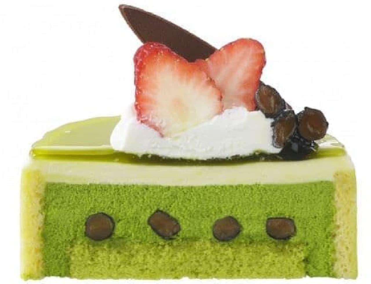 銀座コージーコーナー「抹茶と和三盆のケーキ(3.5号)」