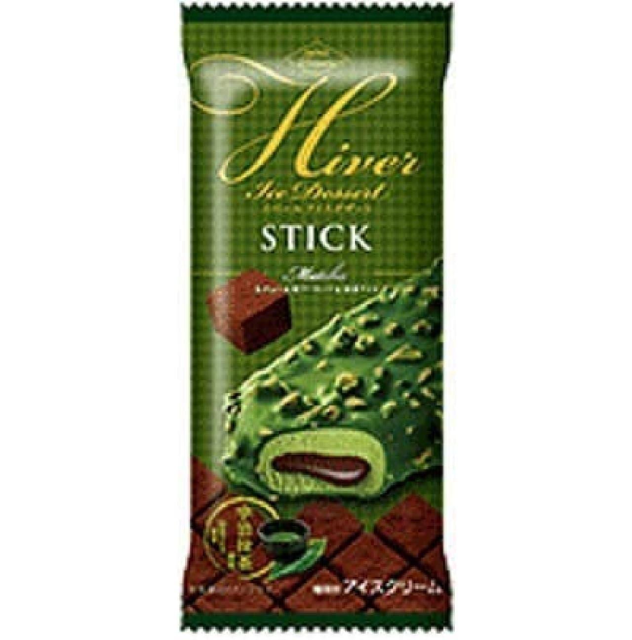 イベールアイスデザート スティック抹茶 アイス新商品