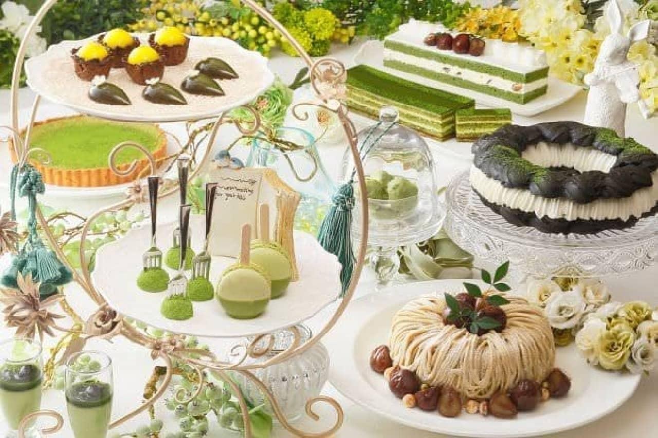 京都センチュリーホテルのスイーツビュッフェ「MATCHA Sweet Garden(抹茶スイートガーデン)」