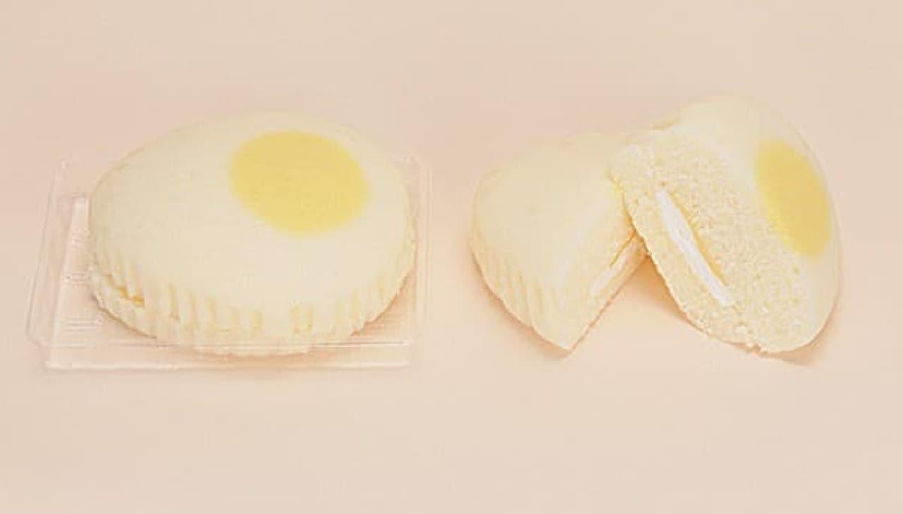 ファミリーマート「たまごみたいな蒸しケーキ」