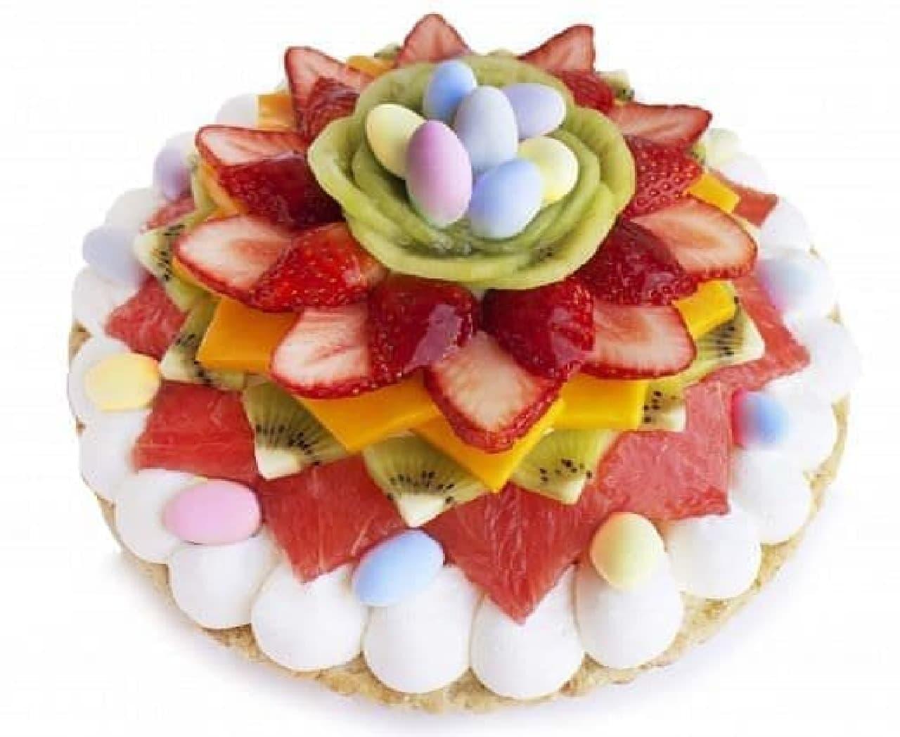 カフェコムサ「イースターのケーキ」