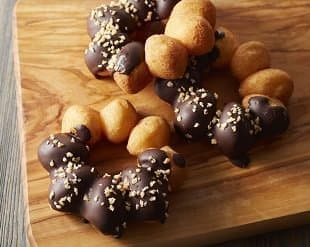 もちもちドーナツ チョコ&クランチ タリーズ