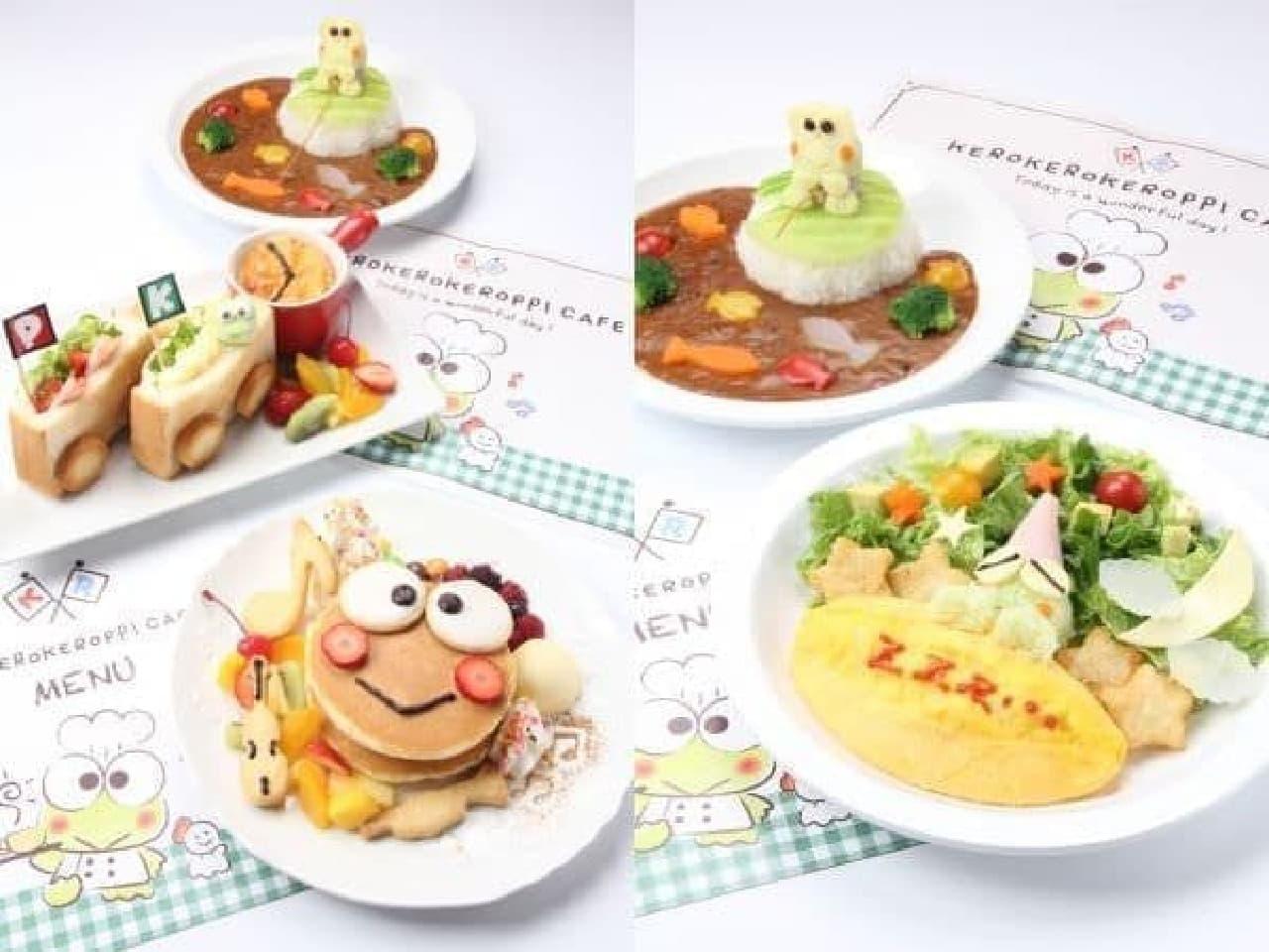 京急百貨店「けろけろけろっぴカフェ」