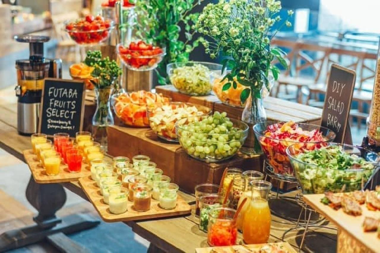 """「RAMO FRUTAS CAFE」は、""""美と健康""""をテーマに旬のフルーツを提供するカフェ"""