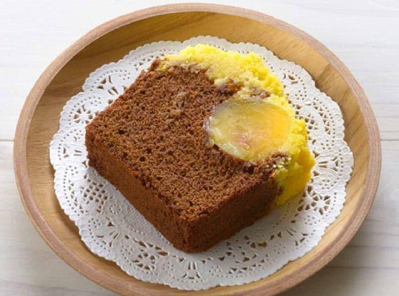 ファミマ「ごろっとマロンのショコラケーキ」