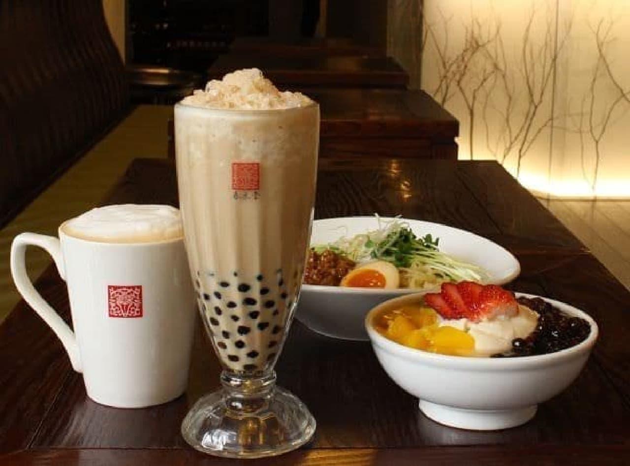 台湾カフェ「春水堂(チュンスイタン)」