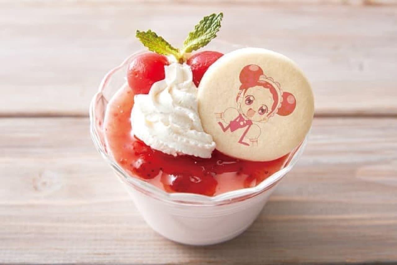 Village Vanguard Cafeルミネエスト新宿店「どれみの苺ババロア」