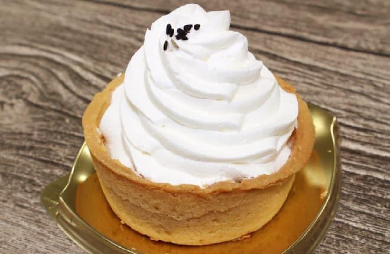ファミリーマート「クリーミー豆乳タルト」
