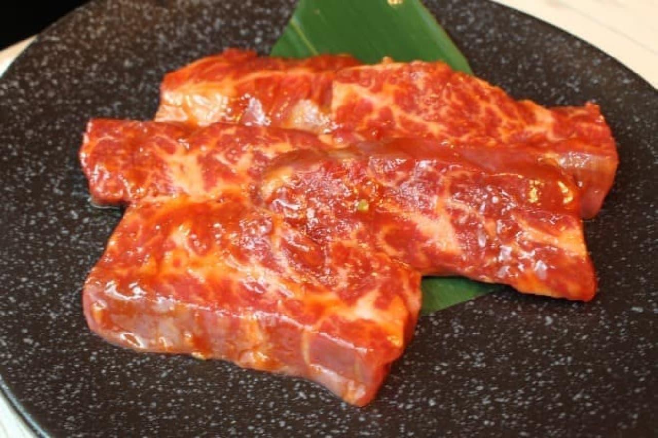 牛角赤坂店「熟成ハラミ 味噌」
