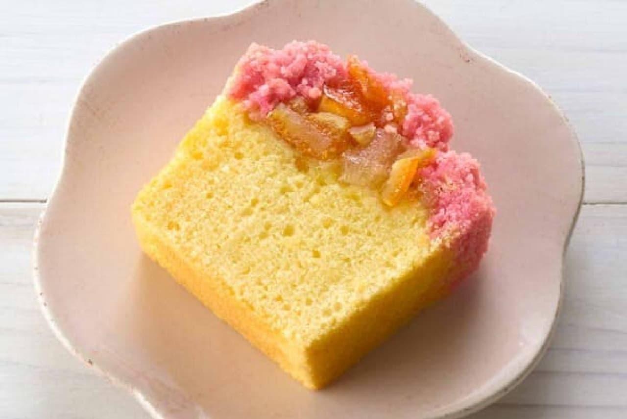 ファミマ「大きな果実のフルーツケーキ」