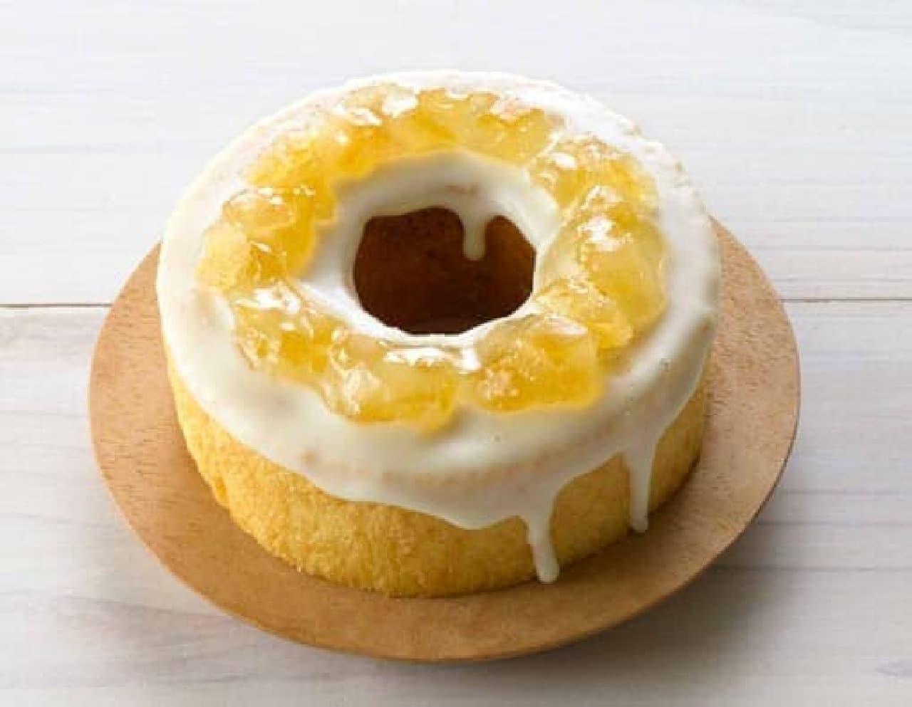 ファミマに「檸檬のバウムクーヘン」
