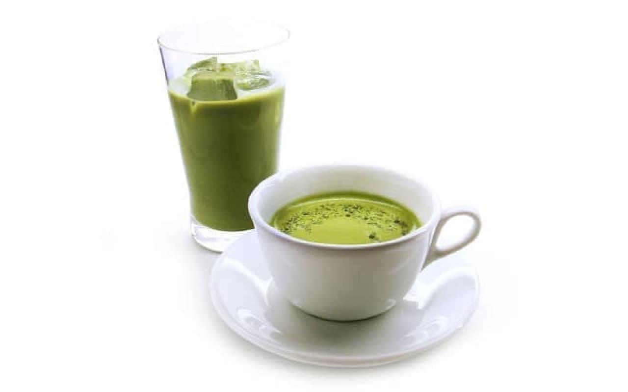 カフェコムサ「抹茶ラテ」