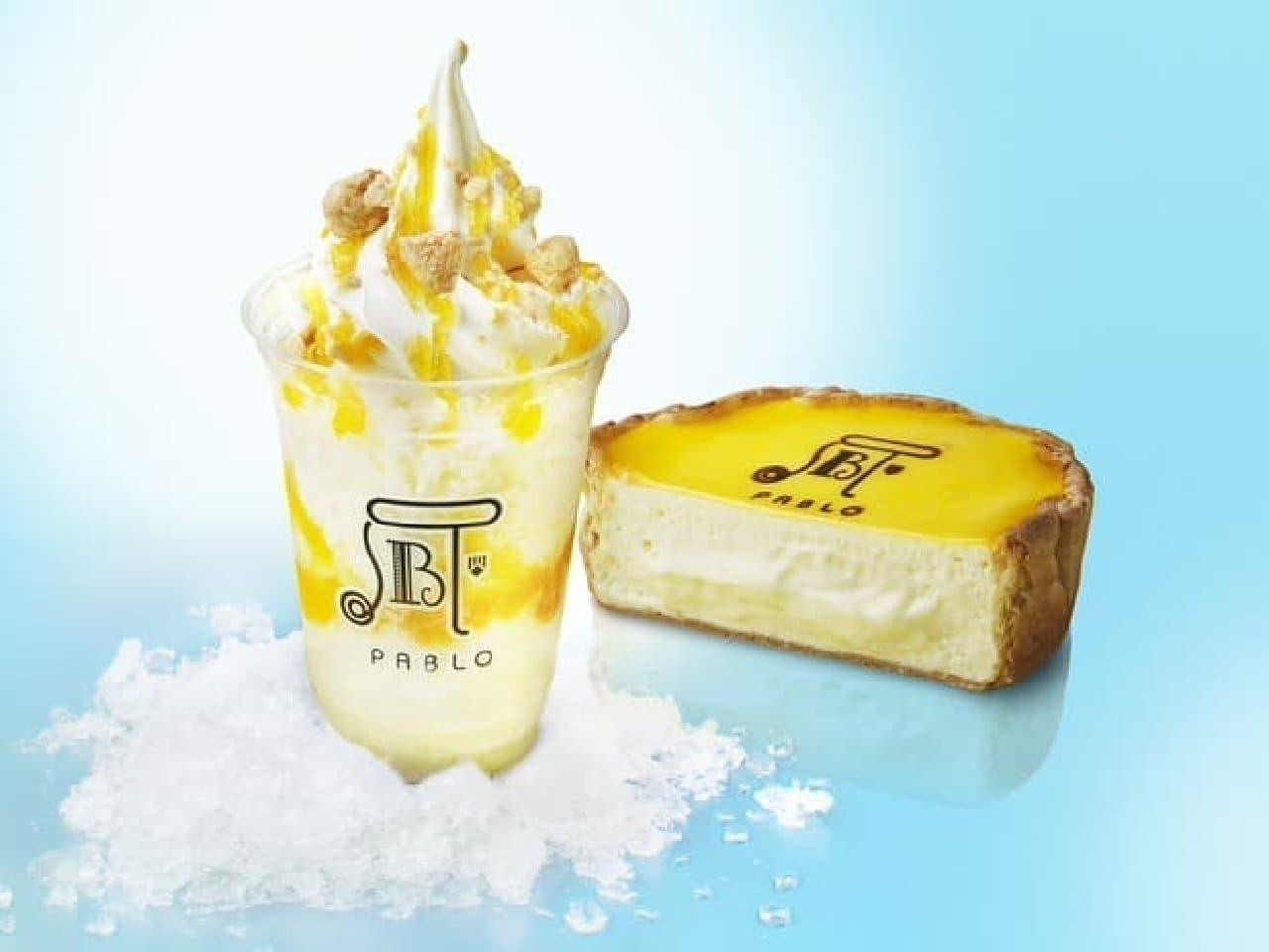 チーズタルトかき氷サンデー