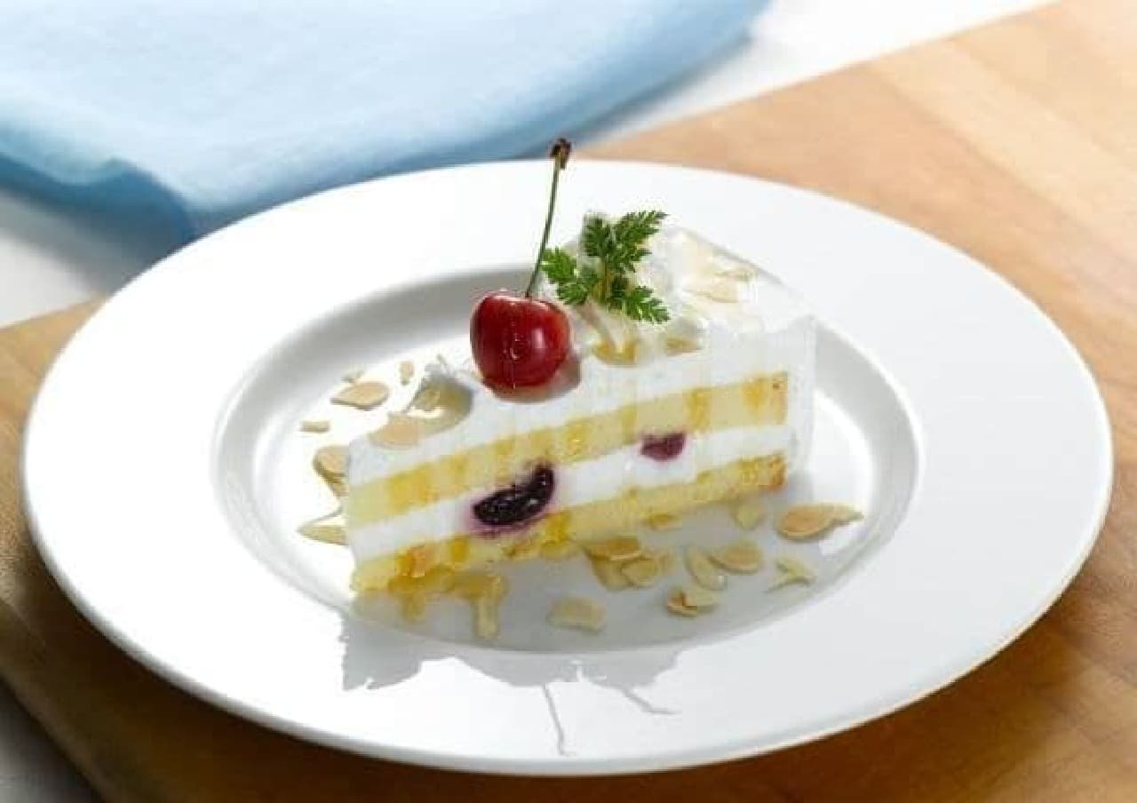 ロイヤルホスト「佐藤錦&ダークチェリーのショートケーキ」