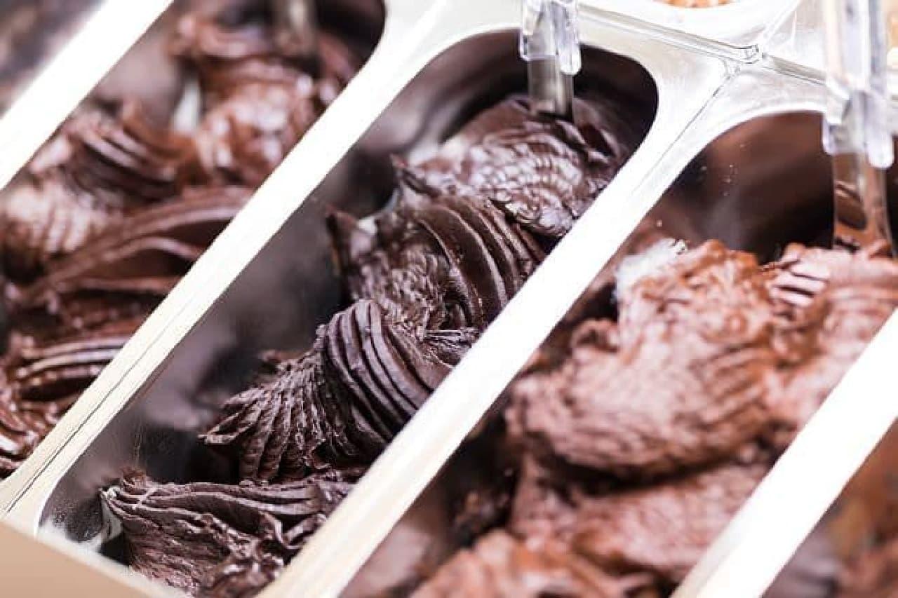 ジェラテリア・ヴィタリ「チョコレートジェラート」