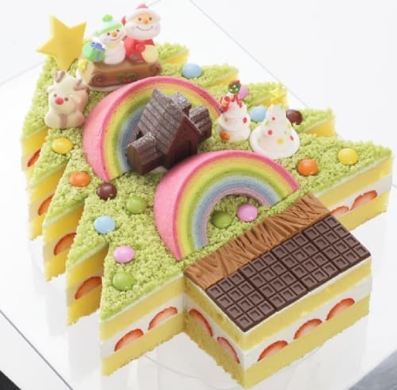銀座コージーコーナー「夢のクリスマスケーキコンテスト」