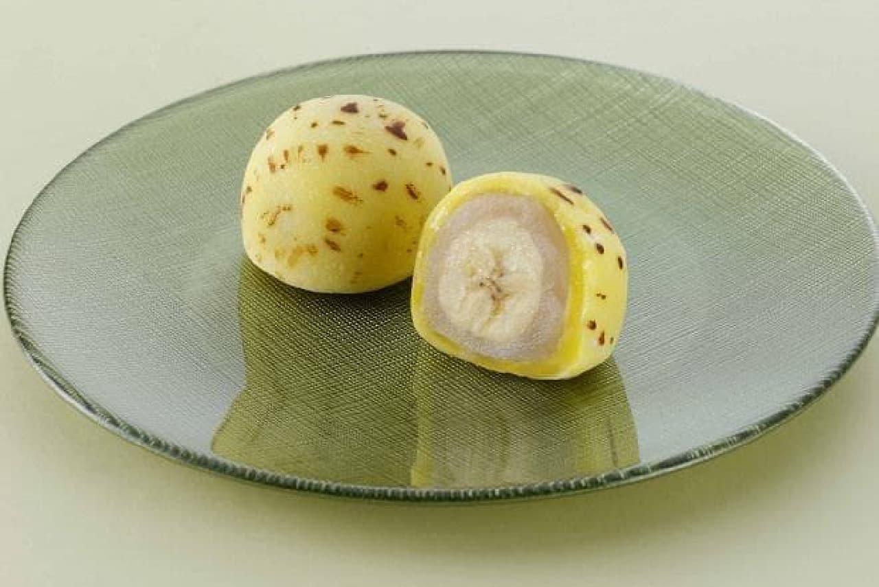 柿安 口福堂と柿次郎「生バナナ入り大福」
