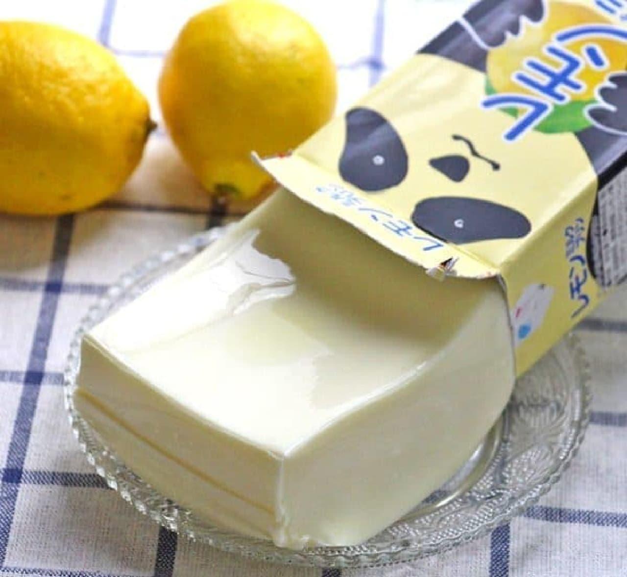 カルディ「オリジナル パンダレモンミルクプリン」