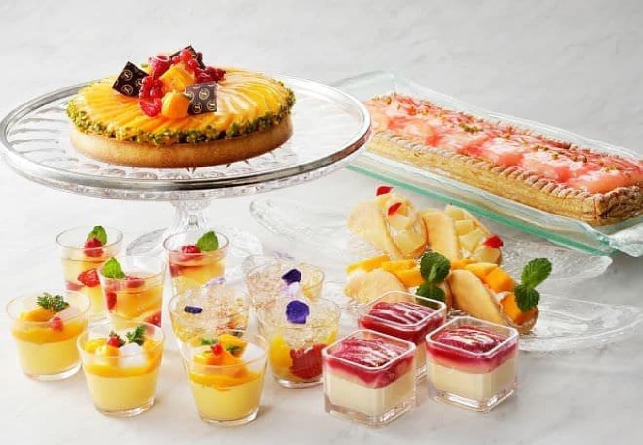 横浜ベイシェラトン ホテル&タワーズ「Sweets Parade ~桃とマンゴー~」