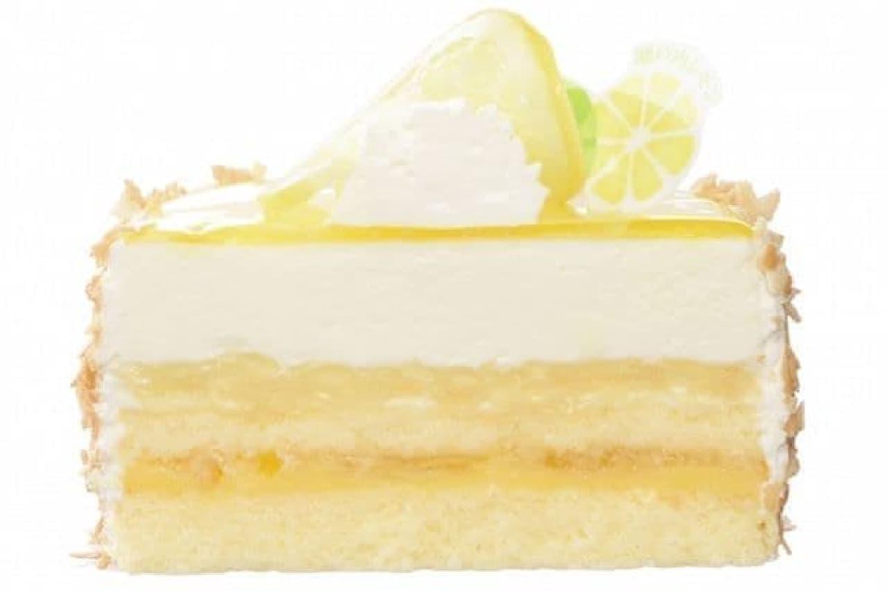 銀座コージーコーナー「瀬戸内レモンのレアチーズ」
