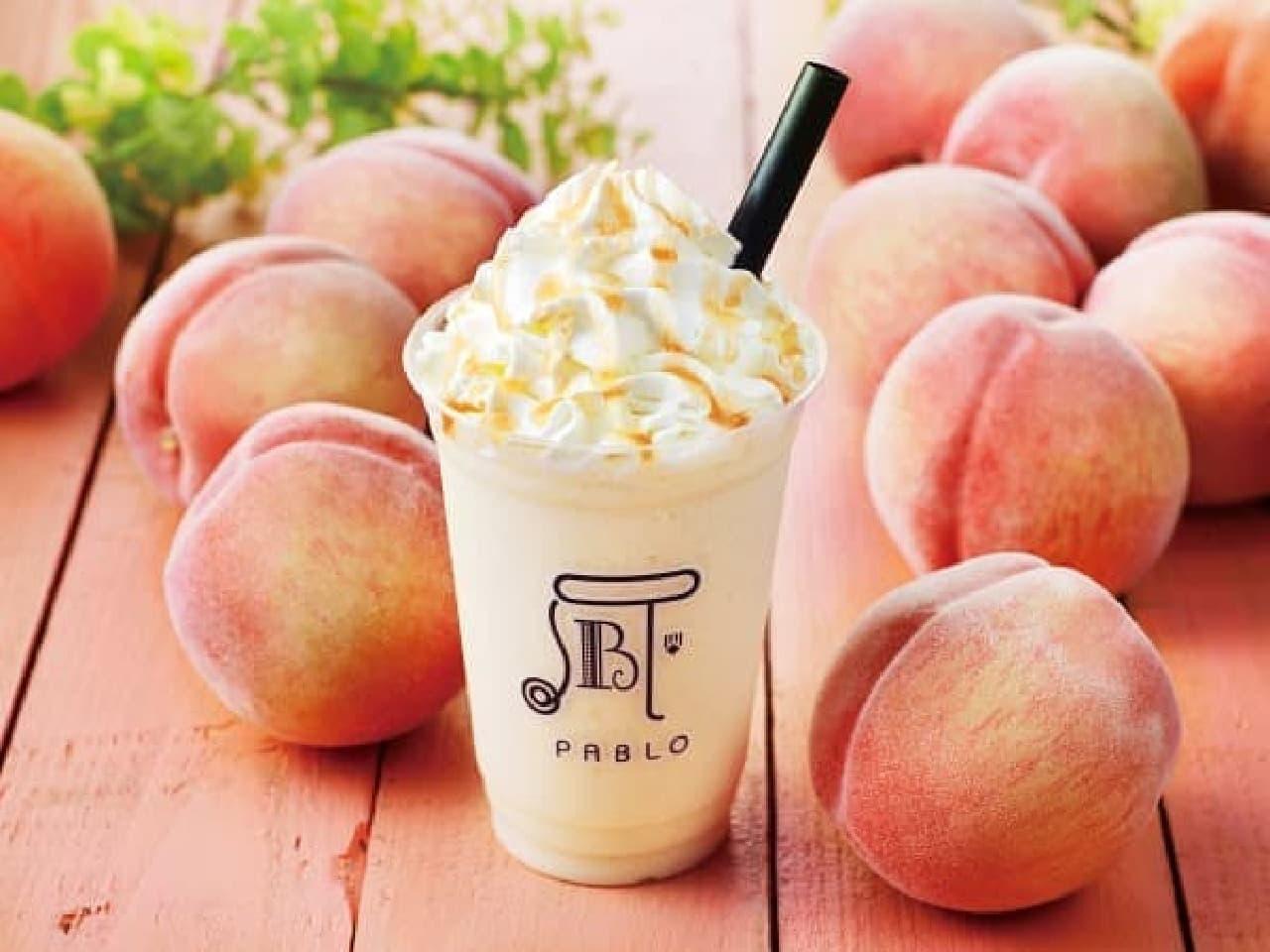 パブロに「たっぷり果実のピーチフルーテ」