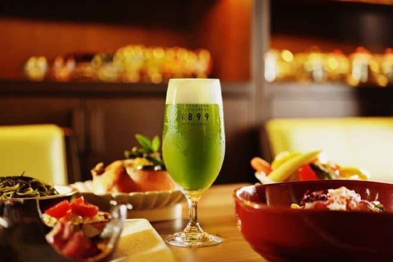 グリーンティー レストラン 1899 お茶の水「抹茶ビアガーデン」