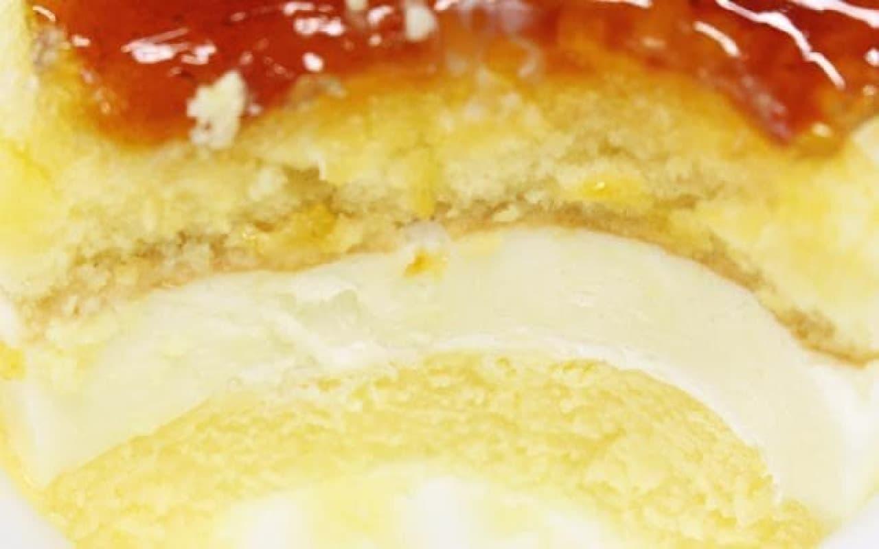 ファミリーマート「北海道産チーズのブリュレチーズケーキ」