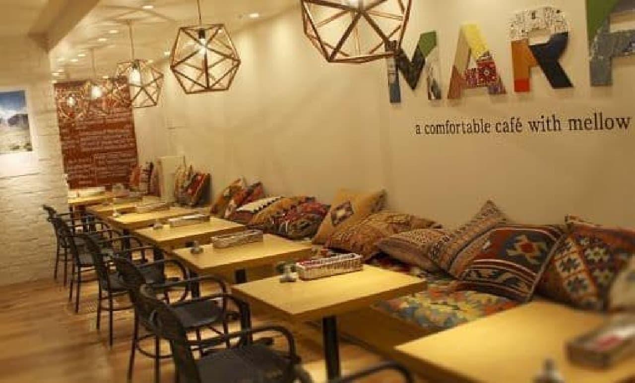 「MARFA CAFE」は、アメリカ西海岸×メキシコをコンセプトにしたモダンカフェ