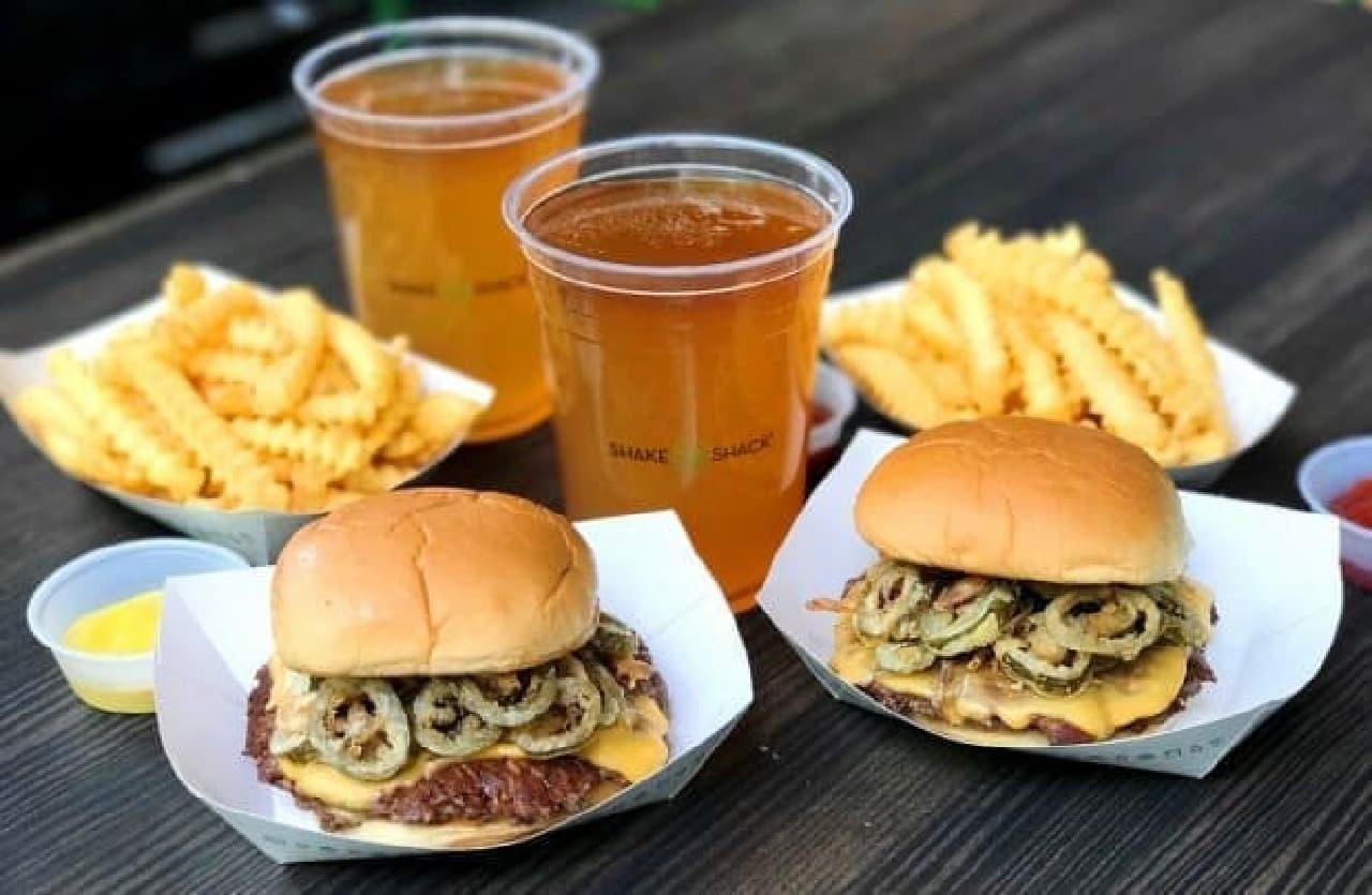 シェイクシャック「Pickled Jalapeno Burger(ピクルド ハラペーニョ バーガー)」
