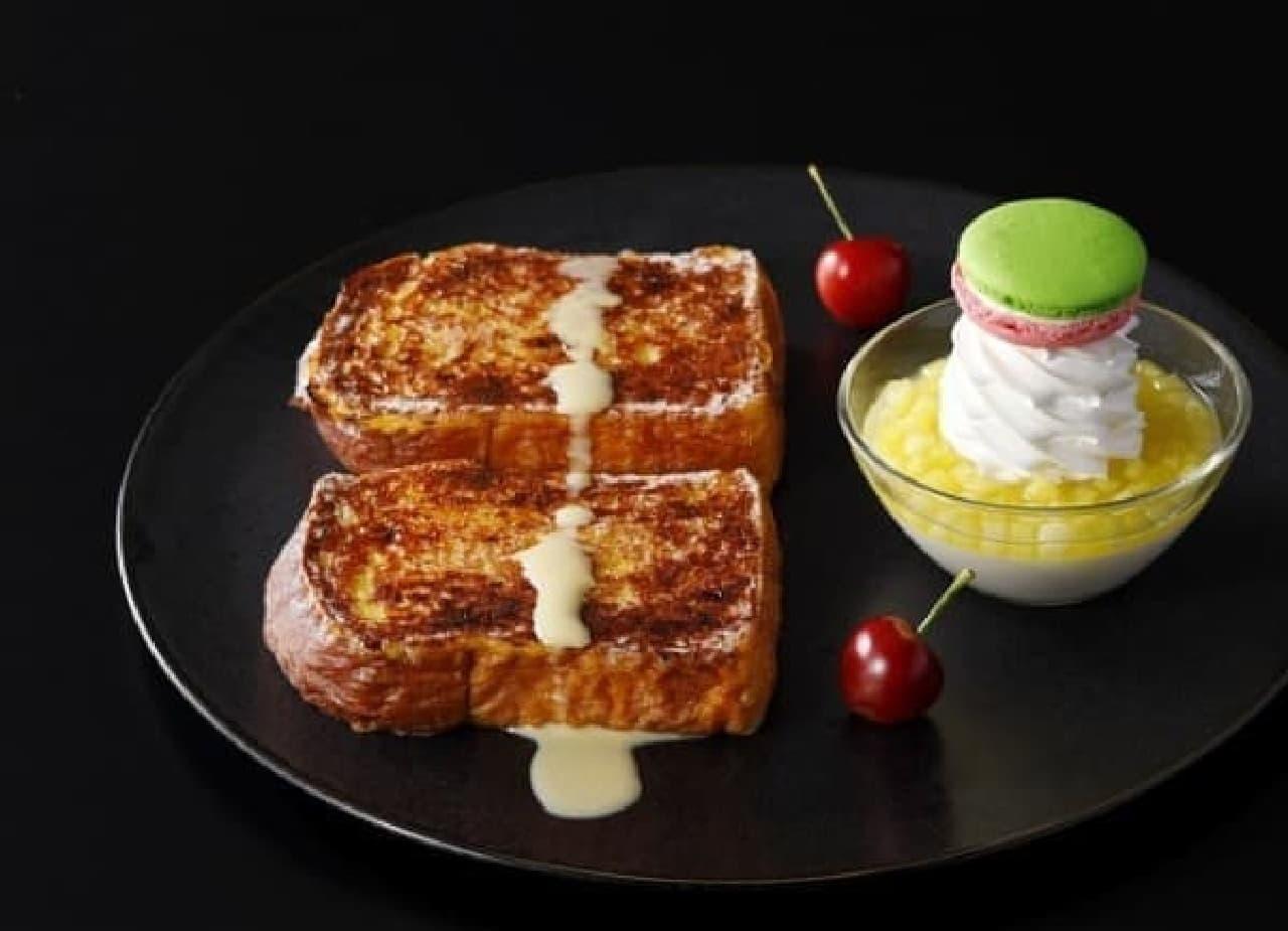 ホテルニューオータニ「ブリオッシュフレンチトースト」