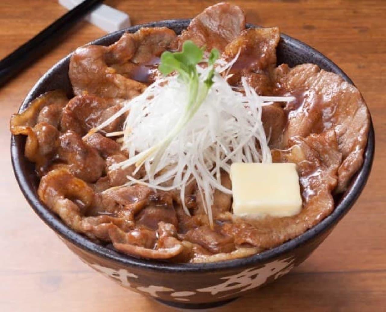 伝説のすた丼屋「北海道すた丼 ~濃厚バター醤油味~」