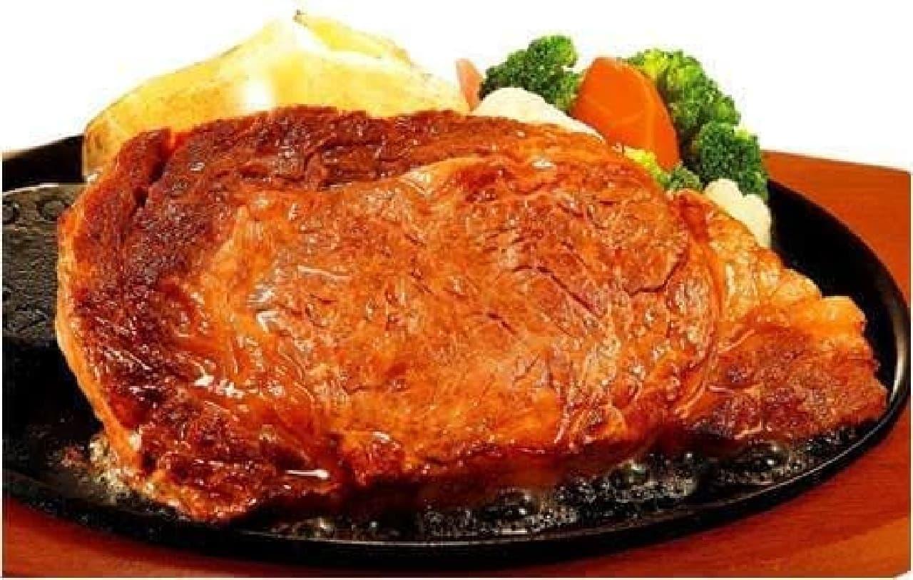 ステーキのどん「熟成リブロインステーキ」