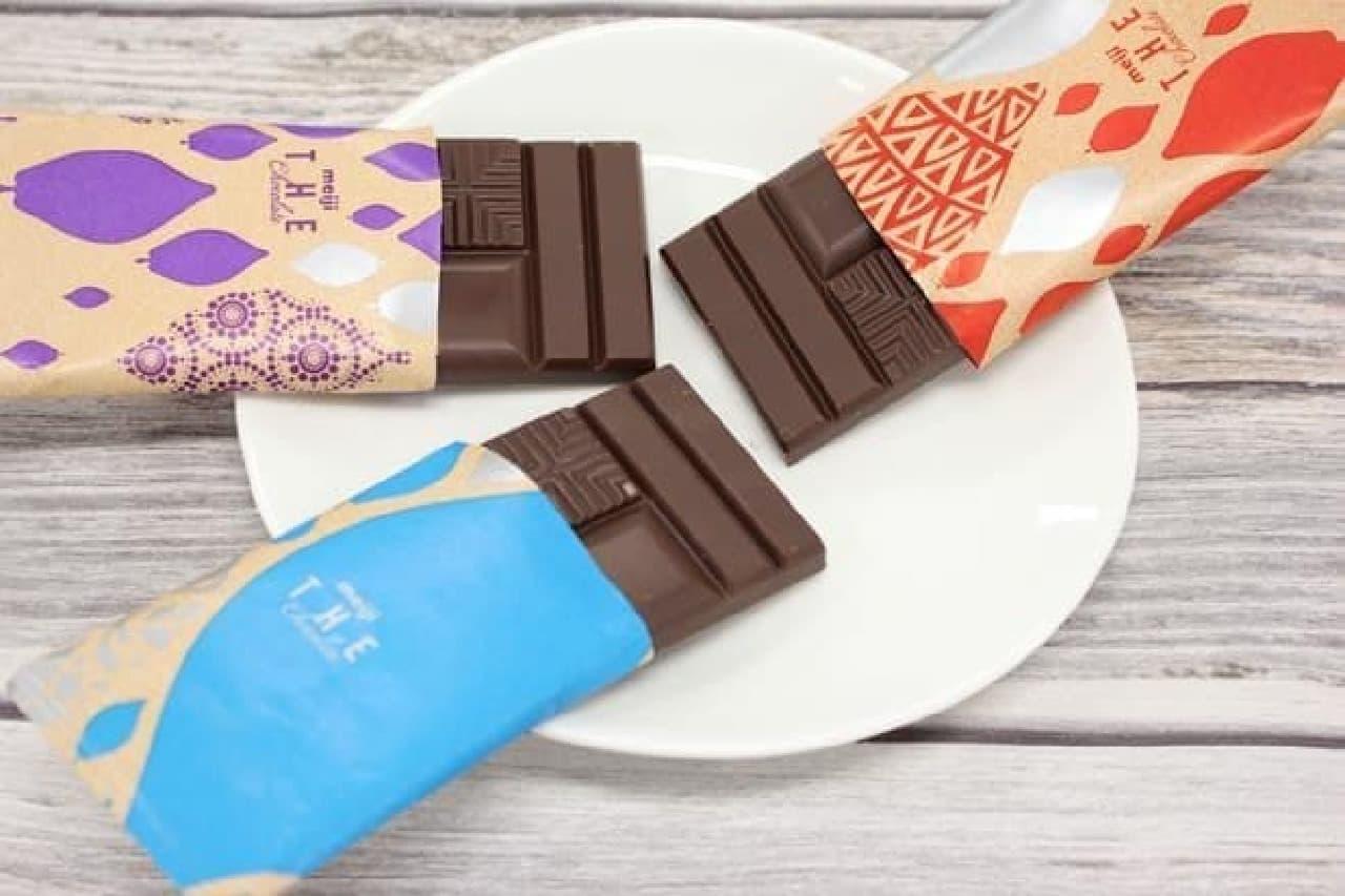 明治ザ・チョコレート 軽やかな熟成感ビビッドミルク