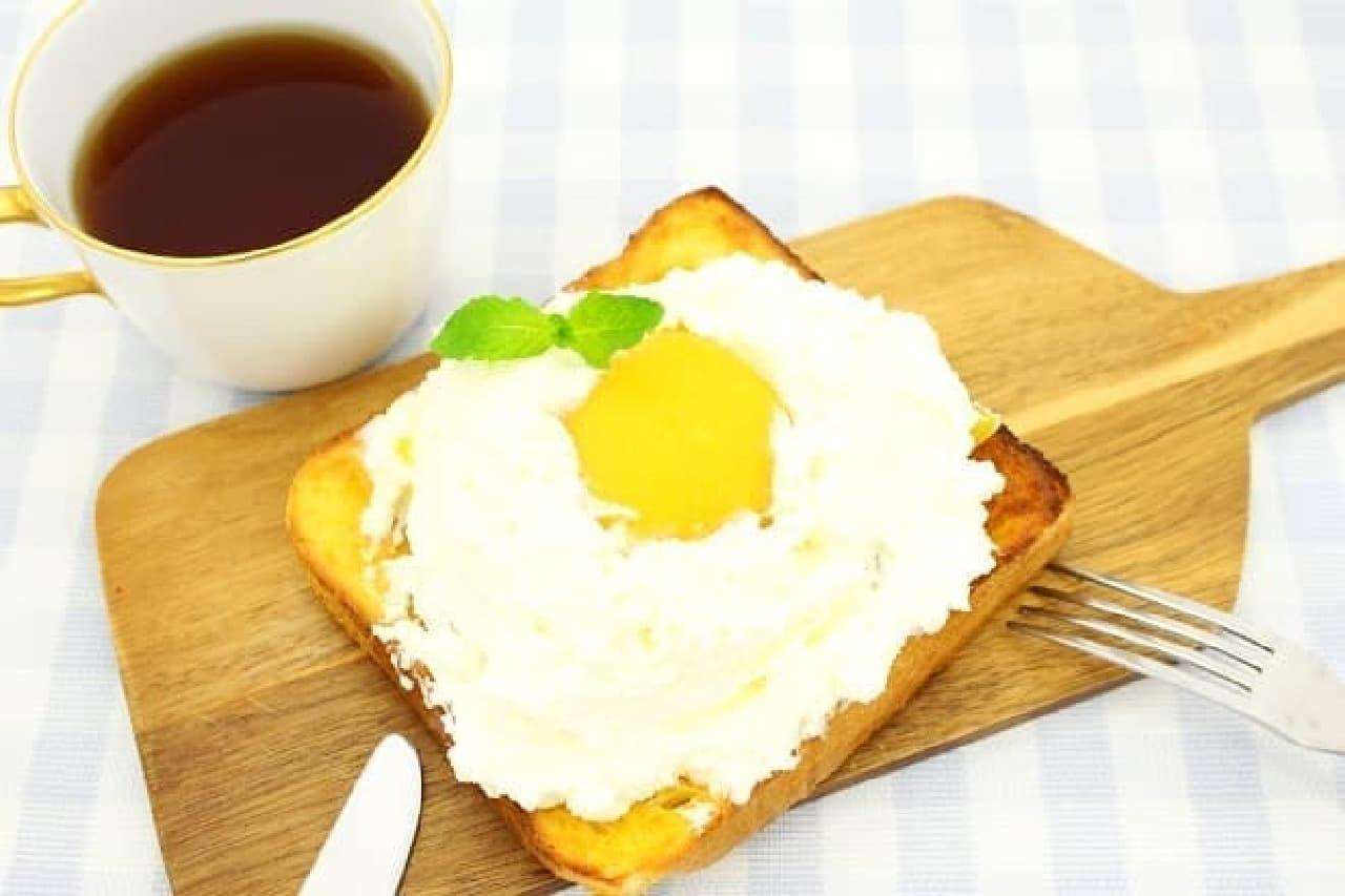 エッグインクラウド風フレンチトースト