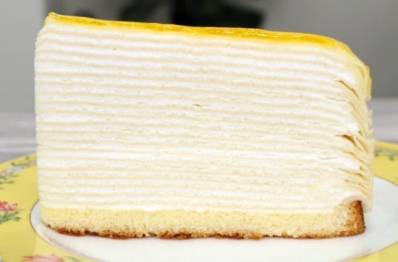 ローソン「20層のミルクレープ」