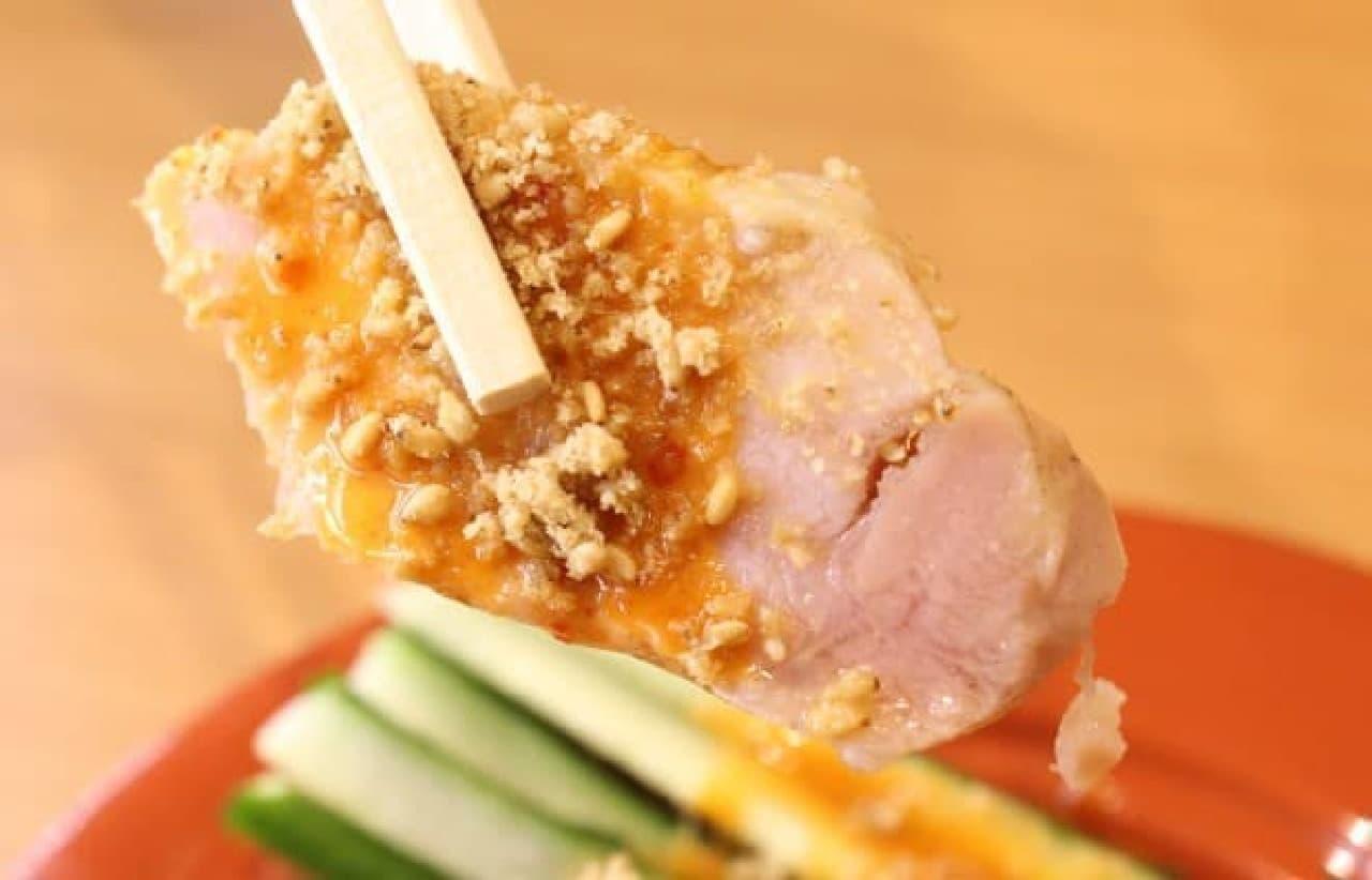 くら寿司「四川風蒸し鶏」