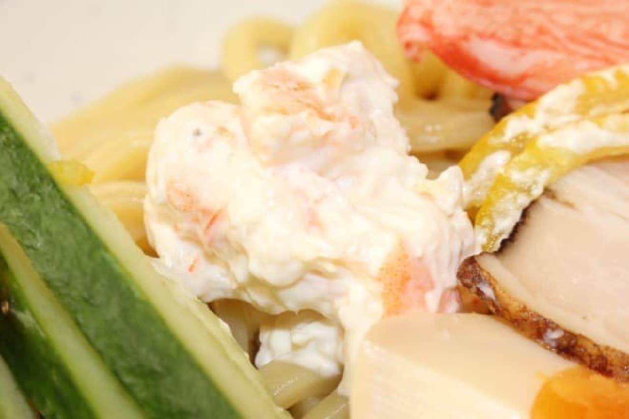 くら寿司「7種の魚介だれ 冷やし中華はじめました」