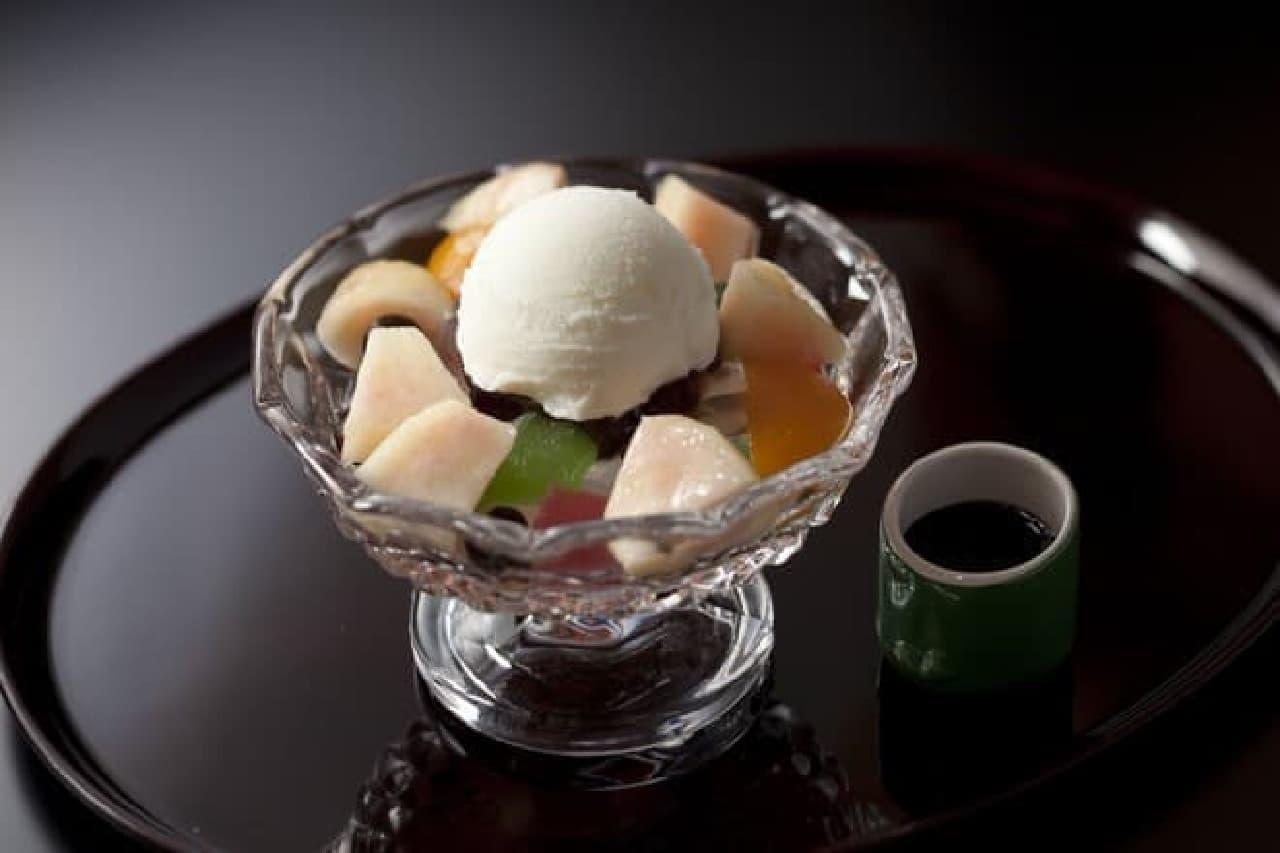 マンゴーと桃を使用した期間限定メニューを提供する「Peach & Mango Fair」が、ホテルニューオータニで開催されている