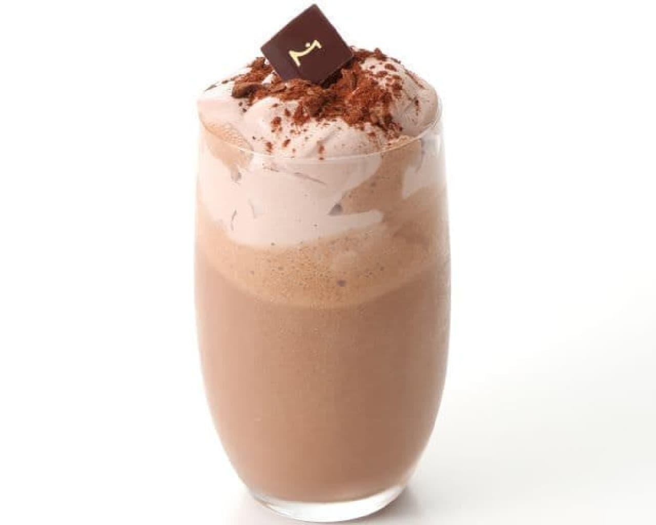 フラッペ ショコラ コレクションは、濃夏にぴったりのショコラベースの冷たいドリンク