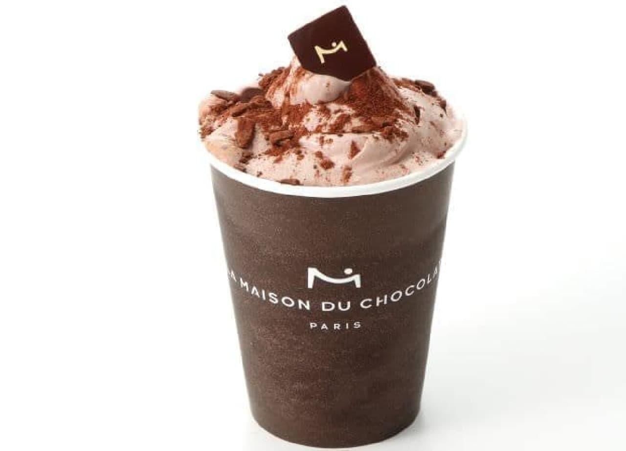 フラッペ ショコラ コレクションは、夏にぴったりのショコラベースの冷たいドリンク