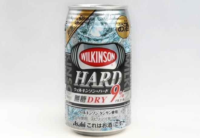 甘くない缶チューハイ「ウィルキンソン・ハード無糖ドライ」