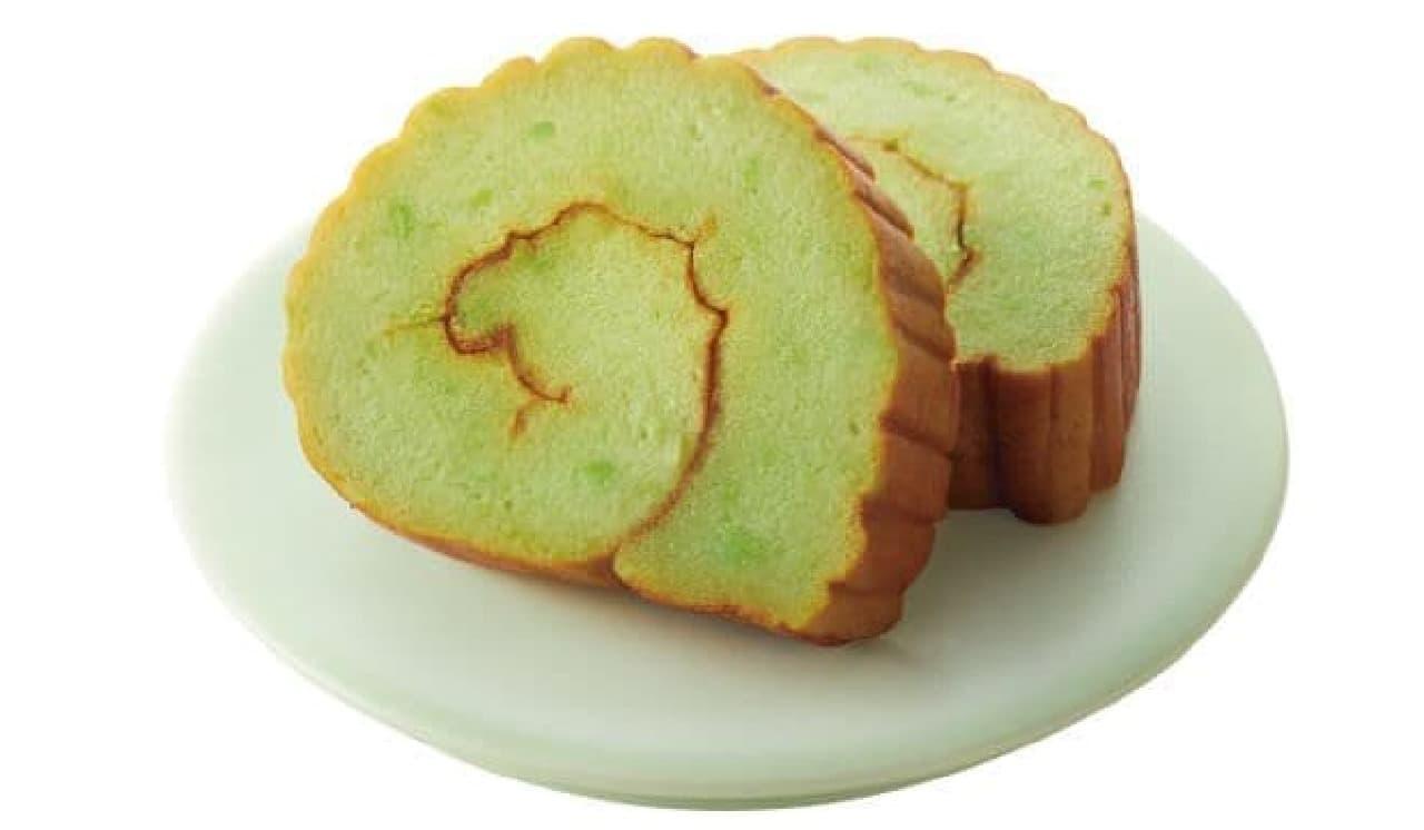「季節の伊達巻 ずんだ」は東北地方の郷土料理でもある「ずんだ」味の伊達巻