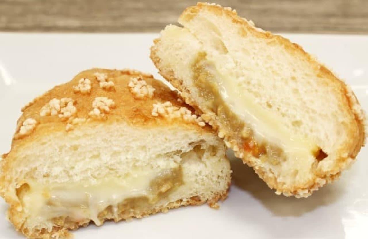 ミスタードーナツ「チーズ・デ・グリーンカレー」